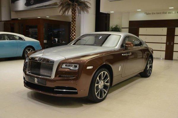 Марка Rolls-Royce создала модель Wraith только для «восточных» клиентов 1
