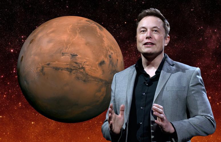 Глава Tesla предложил «соревнование по освоению Марса» 1