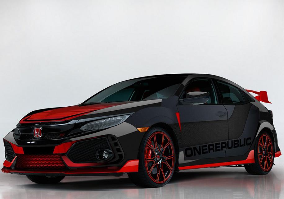 Новый Honda Civic посвятили поп-рок группе 2