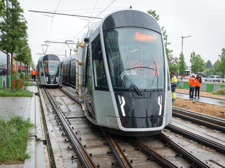 Европейское государство обзавелось трамваями 1