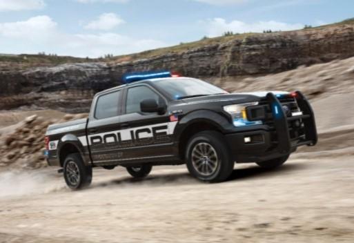 Ford представил самый мощный полицейский пикап 1