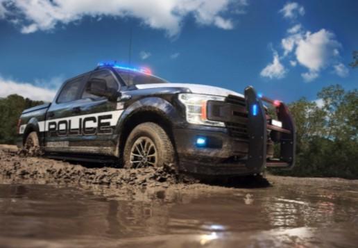 Ford представил самый мощный полицейский пикап 3