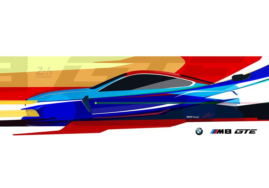 BMW показала профиль новой «восьмерки» для Ле-Мана 1