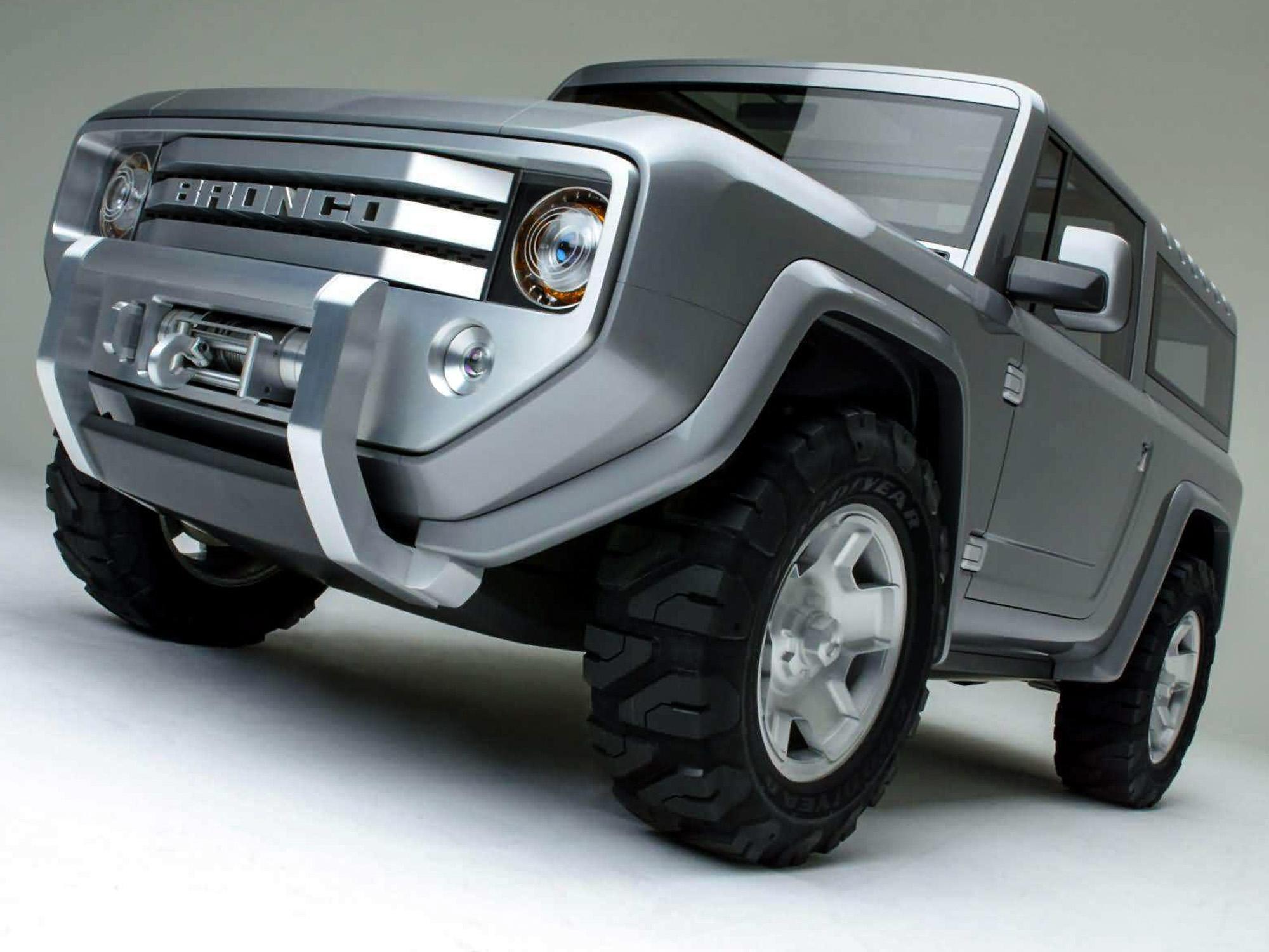 Все подробности о возрождённом внедорожнике Ford Bronco 1