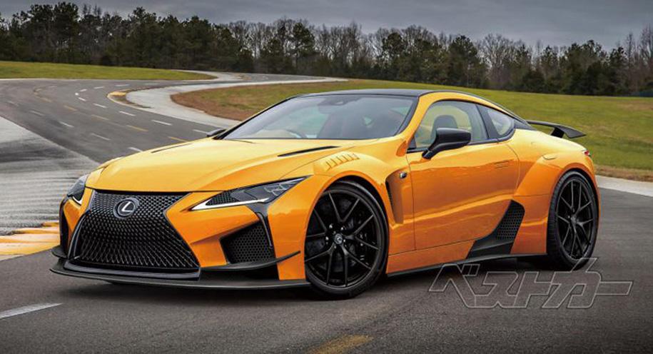 Lexus LC составит конкуренцию «заряженному» Nissan GT-R 2