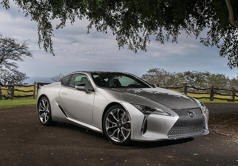 Lexus LC составит конкуренцию «заряженному» Nissan GT-R 1