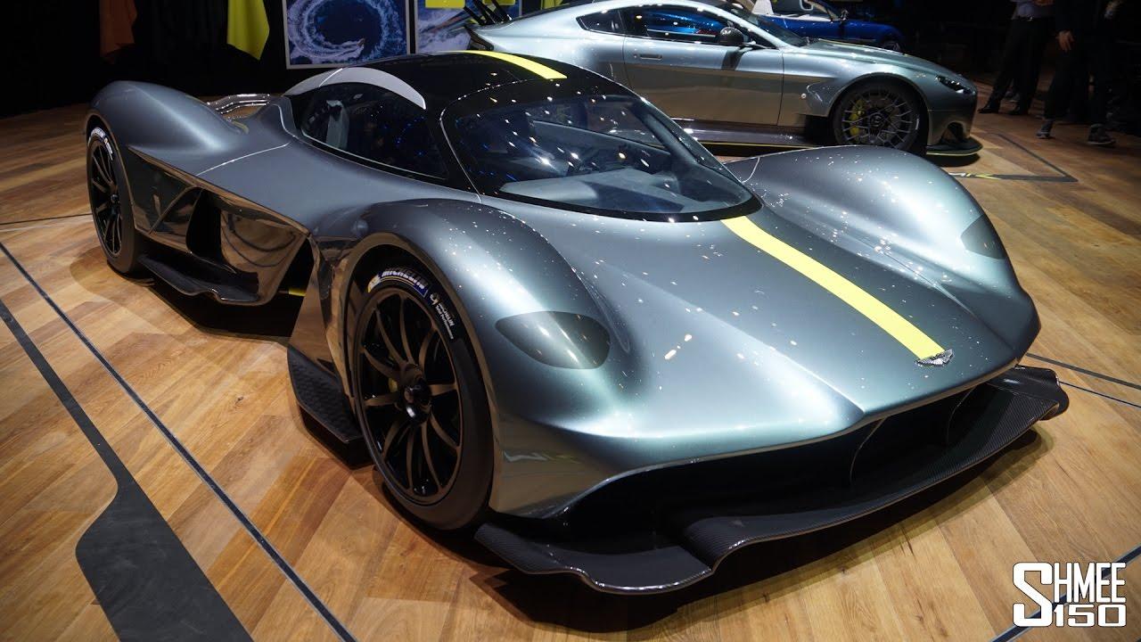 Марка Aston Martin рассекретила свой новый гиперкар 1