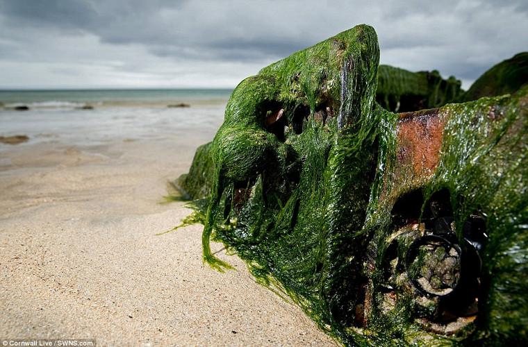 Подводный клад: Land Rover всплыл после десятилетий под водой 2