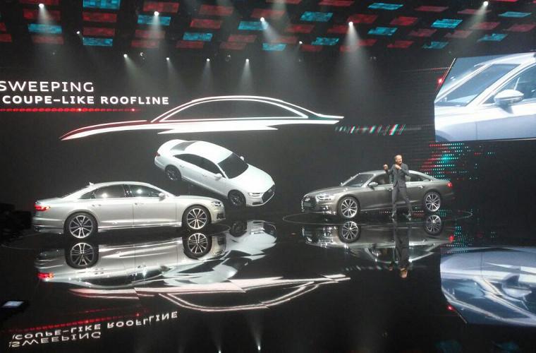 Новый флагман Audi уже успел покорить автошоу 1