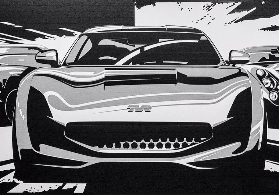 «Восставший из пепла» бренд TVR показал изображения нового спорткара 1
