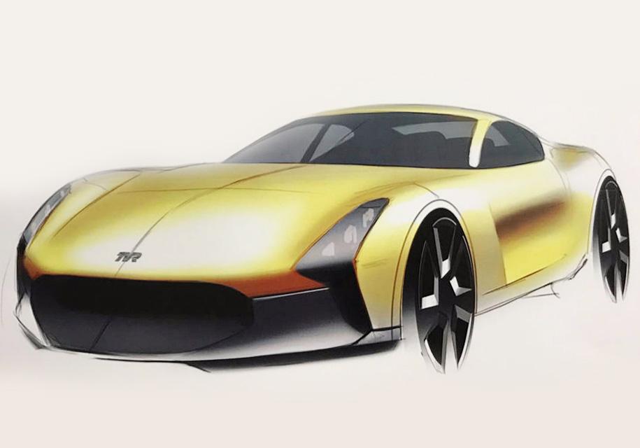 «Восставший из пепла» бренд TVR показал изображения нового спорткара 2