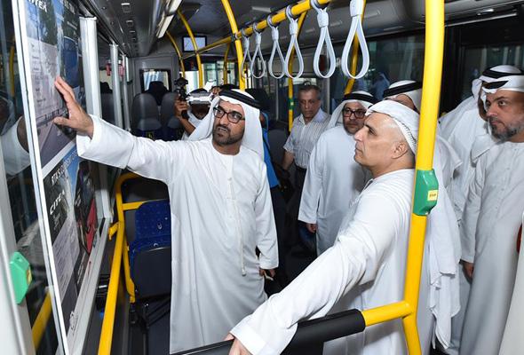 «Экология прежде всего»: в ОАЭ презентовали эко-автобусы 2