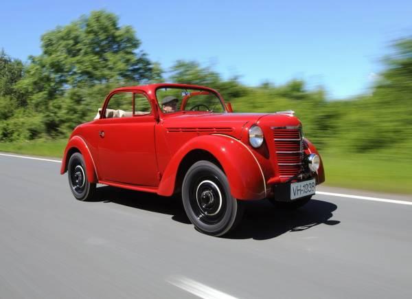 На аукцион выставили уникальный Opel 1938 года выпуска 1