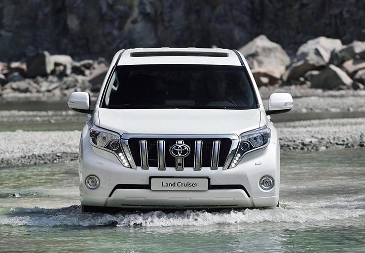 Когда автолюбители увидят новый Toyota Land Cruiser Prado 1