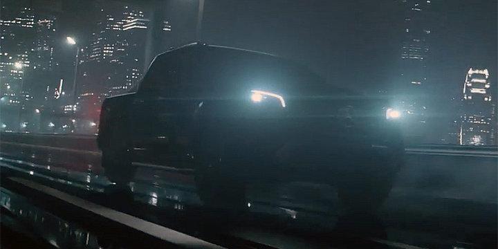 В Германии покажут первый серийный пикап Mercedes 1