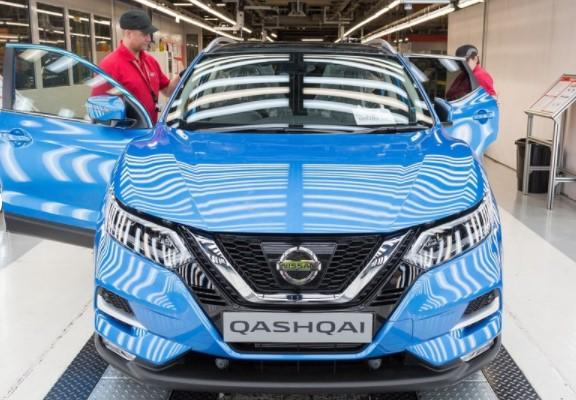 Стартовало производство обновлённого Nissan Qashqai 1