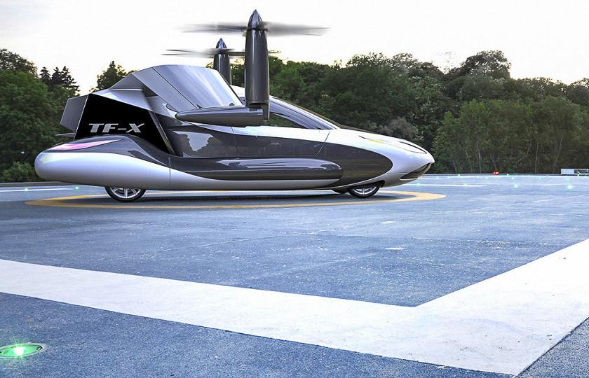 Китайская Geely займется производством летающих авто 3