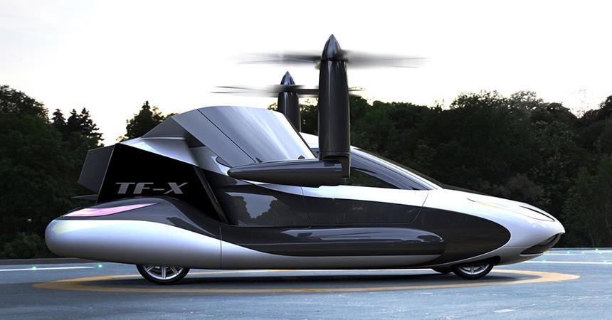 Китайцы решили выкупить все проекты «летающих автомобилей» 1