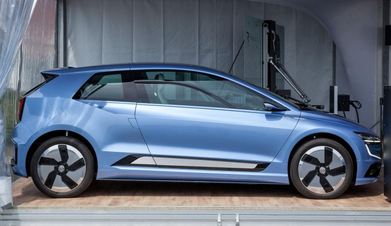 Volkswagen показал загадочный хэтчбек 1