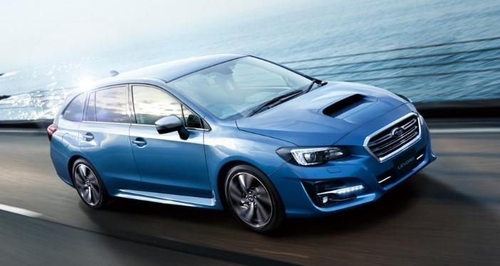 Subaru представила рестайлинговый универсал Levorg 1