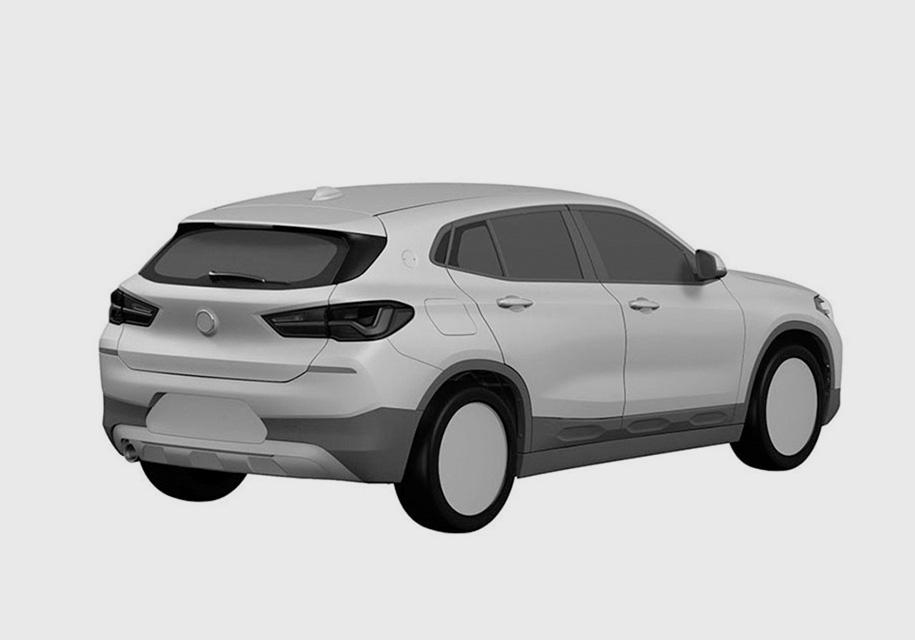 В Сети раскрыли внешности нового кросса BMW 2