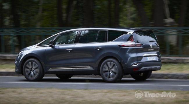 Марка Renault рассекретила обновлённый Espace 2