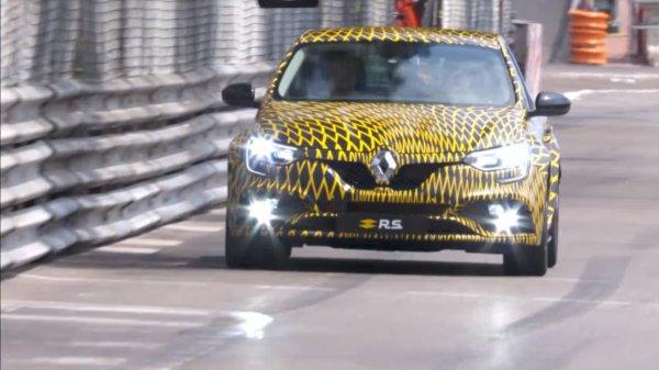 В Германии начали тестировать новый Renault Megane 1