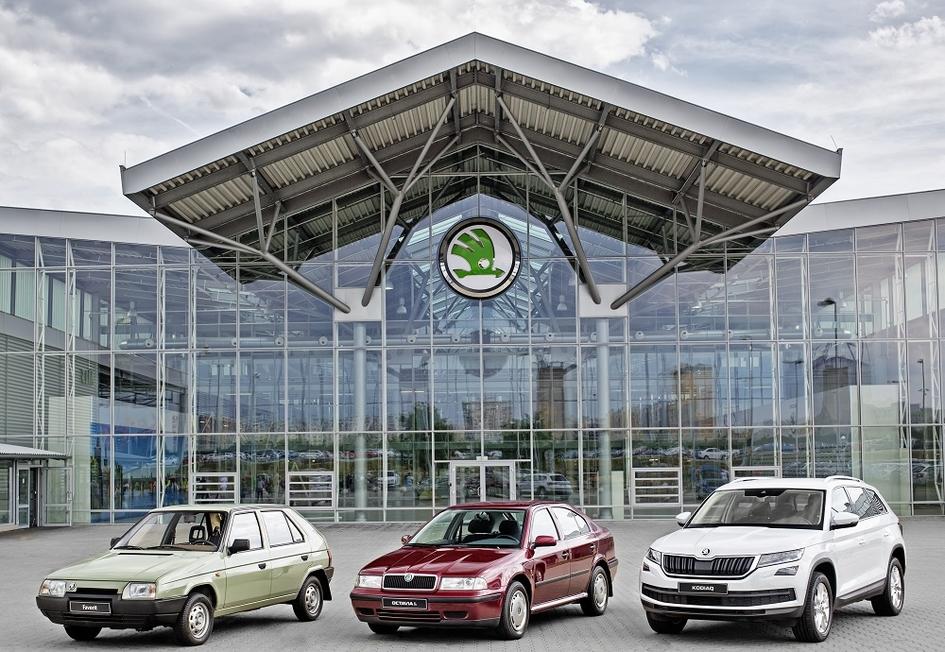 С конвейера Skoda сошел шестимиллионный автомобиль Octavia 2