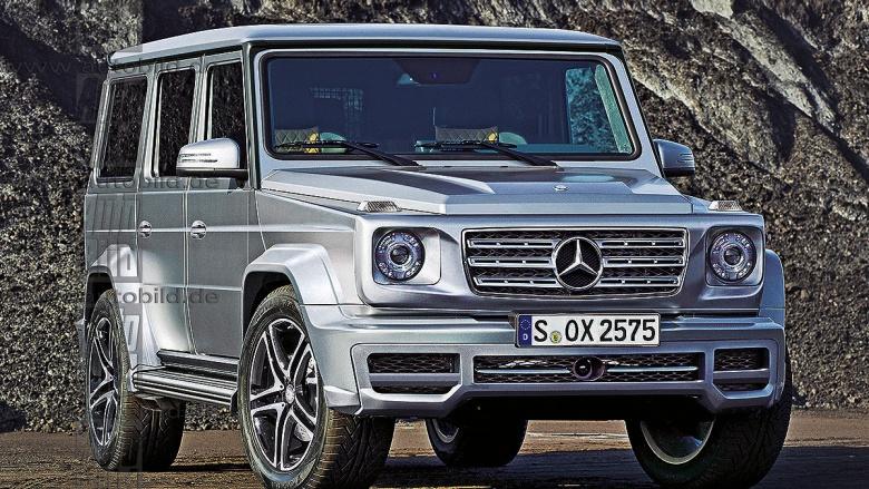 Новый Mercedes G-Класс станет шире и легче 1