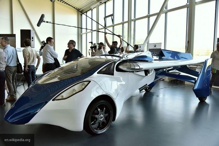 В США презентовали проект «летающей» машины 1