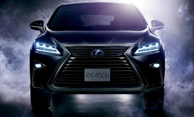 Семиместный Lexus RX: до премьеры считанные месяцы 1