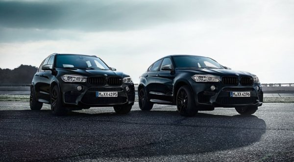 Легендарные модели BMW получили спецверсию Black Fire 1