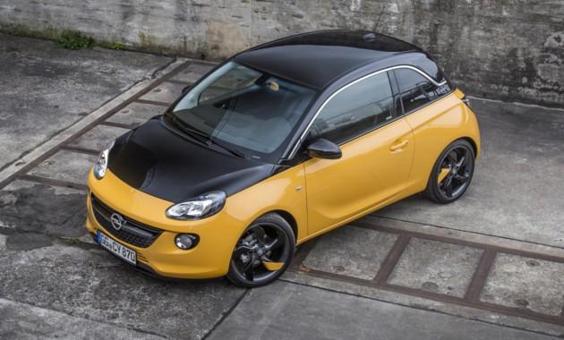 Названы цены крошечного Opel Adam Black Jack 2
