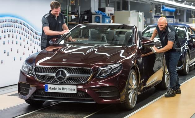 Новый Mercedes-Benz E-Class стал на конвейер 1
