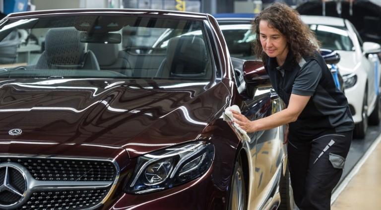Новый Mercedes-Benz E-Class стал на конвейер 2