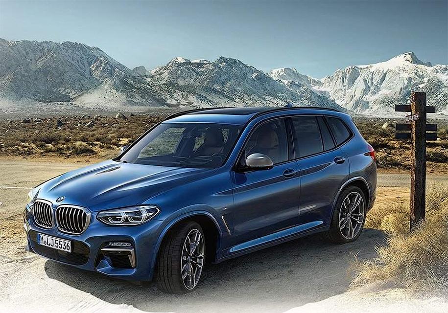 Компания BMW «по ошибке» показала официальные изображения нового BMW X3 2