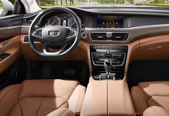 Geely обновила флагманский седан Emgrand GT 2