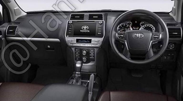 Опубликованы свежие изображения рестайлингового Toyota Land Cruiser Prado 2