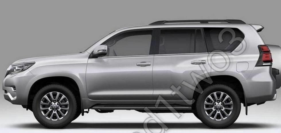 Опубликованы свежие изображения рестайлингового Toyota Land Cruiser Prado 3