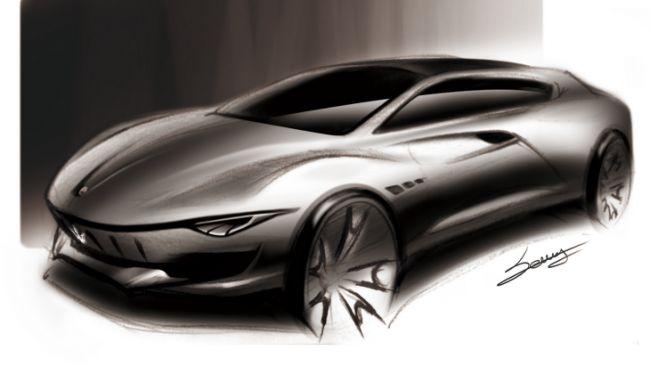 Представлен рендер футуристического универсала Maserati Sport Wagon Concept 2