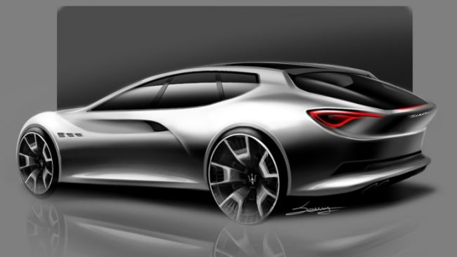 Представлен рендер футуристического универсала Maserati Sport Wagon Concept 3