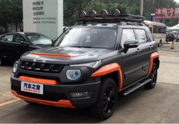 Китайский кроссовер со странным дизайном получил спецверсию 1