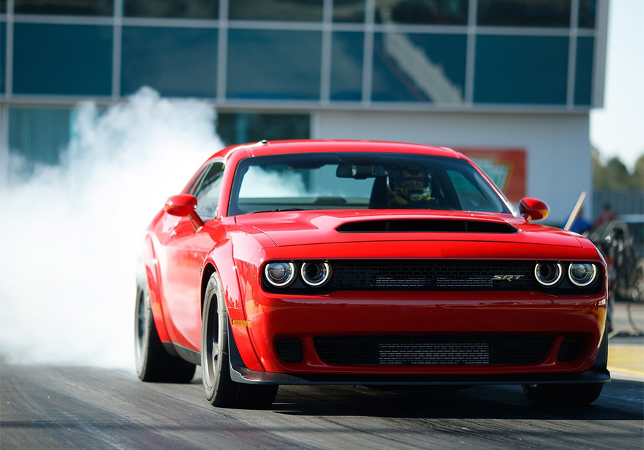Dodge запретил ездить на «Демоне» в холодную погоду 1