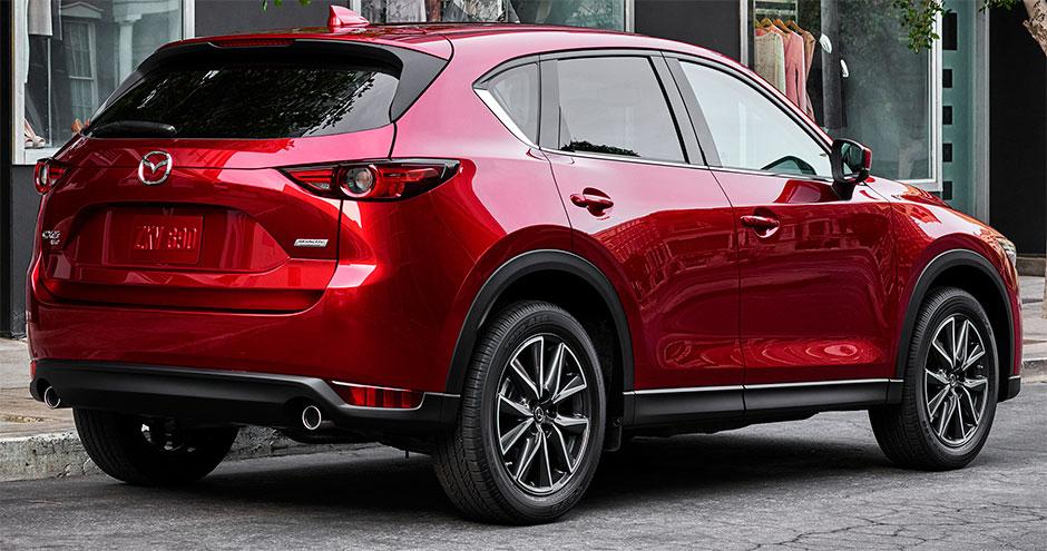 Новый Mazda CX-5 получил сразу три модификации 2