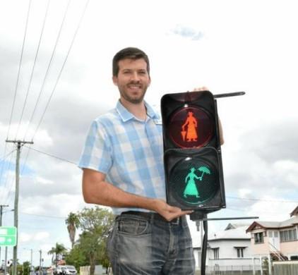 В Австралии появился светофор «Мэри Поппинс» 1
