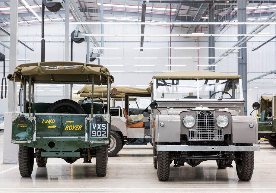 Jaguar Land Rover открыл центр классических автомобилей 3