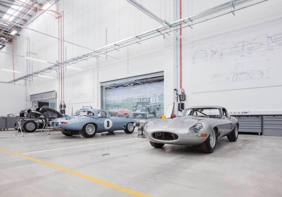 Jaguar Land Rover открыл центр классических автомобилей 2