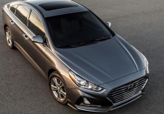Hyundai опубликовала цены на рестайлинговый седан Sonata 3