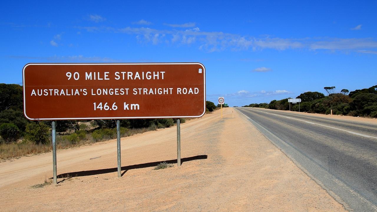 Где находится самая «скучная» дорога в мире 1