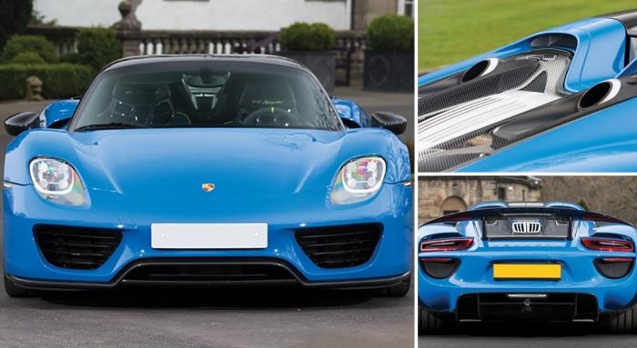 На аукционе два Porsche «ушли с молотка за кругленькую сумму» 1
